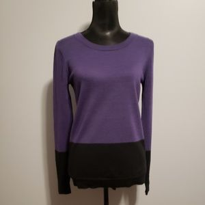 Tahari Extrafine Merono Wool sweater size M